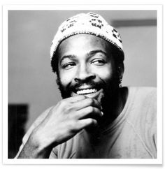 Marvin Gaye as Premium Poster by Vintage Photography Archive | JUNIQE