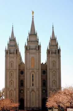 Salt Lake Temple. Jon and I are getting married here :)
