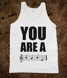 You Are A BABE (tank) - Moosick - Skreened T-shirts, Organic Shirts, Hoodies, Kids Tees, Baby One-Pieces and Tote Bags
