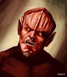#sketch #demon #art #painting #digital #art #drawing #illustration #red #guy #monster #sketchbook Red Guy, Demon Art, Wacom Intuos, Concept Art, Digital Art, Sketch, Photoshop, Fan Art, Portrait