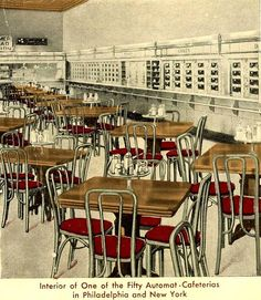 I remember going to the Horn Hardart Automat in NYC, when I was a child.