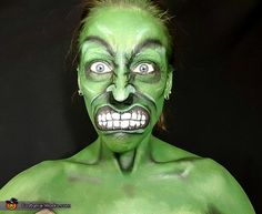 Hulk Face Paint Video Tutorial - Costume Works