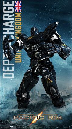 「pacific rim jaeger names」の画像検索結果 Pacific Rim Jaeger, Pacific Rim Kaiju, Transformers, Arte Robot, Cool Robots, Mundo Comic, Sci Fi Movies, Geek Art, Movies Showing