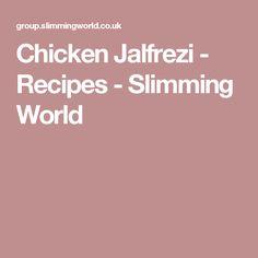 Diet cola chicken - Recipes - Slimming World Slimming World Houmous, Slimming World Beef Curry, Slimming World Fakeaway, Slimming World Recipes, Healthy Curry Recipe, Curry Recipes, Chicken Jalfrezi Recipe, Vegetable Biryani Recipe, Saag Recipe