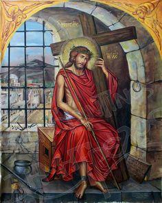 Byzantine Icons, Byzantine Art, Jesus Art, Jesus Christ, Bible Timeline, Catholic Pictures, Holy Quotes, Holy Family, Orthodox Icons