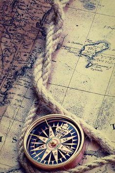 Vintage Scrapbook, Vintage Maps, Compass Wallpaper, Cute Wallpapers, Wallpaper Backgrounds, Fishermans Friend, Atlas Tattoo, Rose Tumblr, Legends And Myths