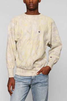 Urban Renewal Marble-Dye Sweatshirt