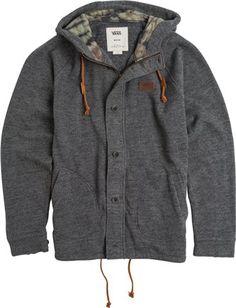 Vans fleet fleece jacket. http://www.swell.com/Mens-Apparel-New-Products/VANS-FLEET-FLEECE?cs=BL