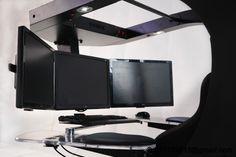 DIY Computer Station, Computer Workstation, Gaming Setup, Gaming Chair, Pc Gamer, Desks, Computers, Gadgets, Tech