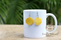 Natural Accessories Sea Shells Ladies Women's Girls Teens Earrings Hammer Shell Yellow Dyed Round 30 mm Dangling Earrings 0089ER. Manufacturer, Factory and Producer. Shop The best deals on fashion jewelry wholesale and retail. Shell Earrings, Gemstone Earrings, Dangle Earrings, Wooden Earrings, Earrings Handmade, Coconut Earrings, Fashion Earrings, Fashion Jewelry, Natural Accessories