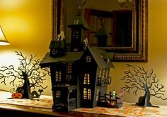 Halloween Cricut Craft Room How To's For a Haunted House. #halloween
