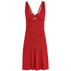 LA PERLA Smock pleated beach dress and other apparel, accessories and trends. Browse and shop 8 related looks.