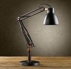 Restoration Hardware 1930S STUDIO TASK TABLE LAMP $199