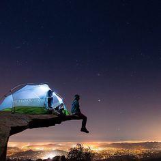 Summer night over San Diego - California