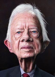 Jimmy Carter (by DonkeyHotey) …
