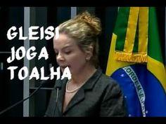 Delatada,Gleisi joga a toalha e culpa Lula e Dilma por não terem feito r...