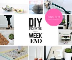 10 must do DIY projects for your weekend. Be inspired by ten of the most popular DIY projects from my blog.