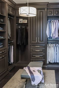 Spacious closet with tons of storage from Kate Davidson
