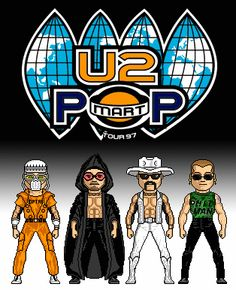 U2 POPMART 1997 at University of Utah.