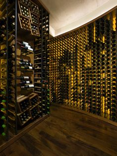 Wine Cellar Floating Shelves For Wine Glassesbottles Design, Pictures, Remodel, Decor and Ideas