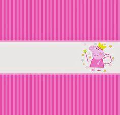 Peppa Pig Printables, Cumple Peppa Pig, Oh My Fiesta, Pig Party, Fairy Princesses, Princess Party, 2nd Birthday, Birthday Ideas, Template