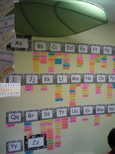 Word wall in my 1st grade classroom