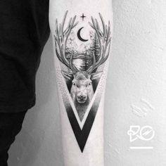 Deer Tattoo   Best Tattoo Ideas Gallery