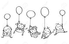 """Résultat de recherche d'images pour """"dessins de ballons"""""""