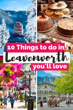 Looking for the top unique things to do in Leavenworth, WA? Here you have my Leavenworth Travel Guide with the best travel tips for visiting Washington's Bavarian Village, the most charming Bavarian town in the Pacific Northwest! Leavenworth Washington I Usa Travel Guide, Travel Blog, Travel Usa, Travel Tips, Beach Travel, Travel Packing, Travel Backpack, Budget Travel, Travel Guides