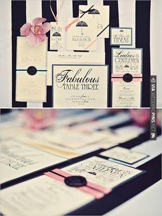classic wedding invites from Vintage Invites | VIA #WEDDINGPINS.NET