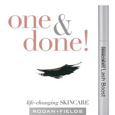 One Swipe a night is all it takes to nourish lashes & brows with Rodan+Fields Lash Boost. See longer, darker, fuller-looking lashes and brows in as little as 4 weeks! Rodan Fields Lash Boost, Rodan And Fields, Longer Eyelashes, Long Lashes, Fake Lashes, Rf Lash Boost, Eyelash Serum, Skin Care Regimen, Mascara