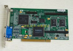 Matrox Millenium MGA-2064W PCI 4MB Graphics Card Video Card, Graphics, Things To Sell, Ebay, Filing Cabinets, Graphic Design, Printmaking