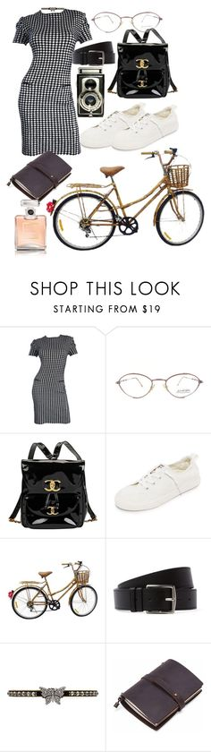 """""""Untitled #1491"""" by veronice-lopez ❤ liked on Polyvore featuring Molyneux, Chanel, Tretorn, Hermès and Gucci"""