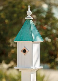 Bluebird House. It doesn't look like a bluebird house to me. How does it open?