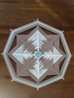 Simplicity Mandala  24cm/ 8 sides by MandalasofLight on Etsy