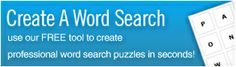 BusyTeacher: Free Printable Worksheets For Busy Teachers Like YOU! Create Wordsearches,