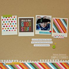 this is the good stuff {Simple Stories} - Scrapbook.com