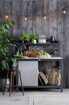 Outdoor Spaces, Outdoor Living, Outdoor Kitchens, Outdoor Sinks, Courtyard Design, Interior Garden, Backyard, Patio, Maine House