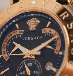 Still looking for the perfect Christmas gift for the man in your life. This Versace watch is the perfect indulgence present, shop now on Farfetch