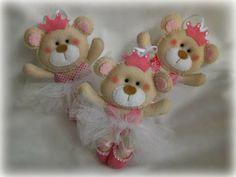 Ursinhas bailarinas princesas. Lindas!