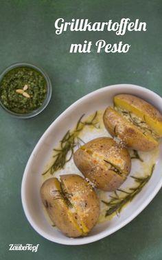 Grillkartoffeln mit Pesto aus dem Thermomix® – Foto: Ricarda Ohligschläger