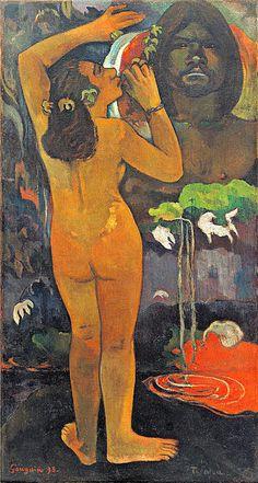The Moon And The Earth  Paul Gauguin