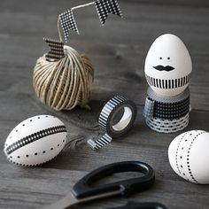 washi tape egg man