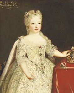 Maria de Borbon, Infanta de Espana  by Pierre Gobert