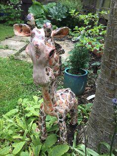 Ceramic giraffe