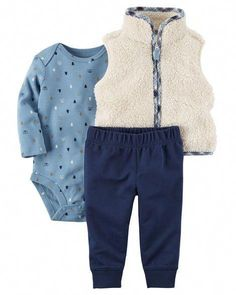 Baby Boy Sets Clothes at Macy's come in a variety of styles and sizes. Shop Baby Boy Sets Clothing and find the latest styles for your little one today. Carters Baby Boy Clothes, Baby Boy Outfits, Kids Outfits, Baby Shower Outfit For Guest, Maternity Dresses For Baby Shower, Cool Kids Clothes, Baby Kids Clothes, Winter Clothes, Kids Vest