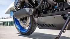 BUBBLE VISOR: Mark Meisner - Yellowrider za Yamaha GTS NASTĘPNY