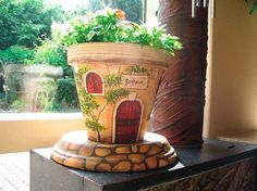 Terra Cotta House Pot