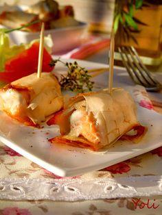 Хрупкави рибени хапки Bulgarian Recipes, Bulgarian Food, Baked Potato, Camembert Cheese, Eggs, Breakfast, Ethnic Recipes, Serbian, Main Courses