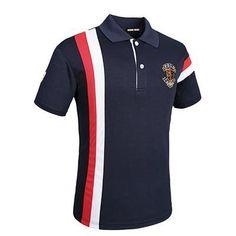 Spring Summer Men's Quick Dry Breathable Casual Polo Shirt M Mens Tee Shirts, Polo T Shirts, Golf Shirts, Camisa Polo, Outfits Hombre Casual, Polo Bordado, Running Shorts Outfit, Polo Shirt Design, Golf Fashion